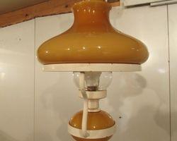 Suspension lampe à pétrole électrique