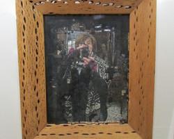 Superbe miroir au mercure