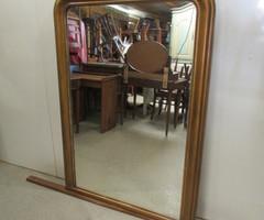 Grand miroir Louis Philippe bois et stuc ,vendu