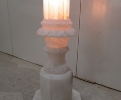 Belle lampe rétro-éclairée