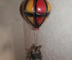 Montgolfière en fibre de verre, ,vendu