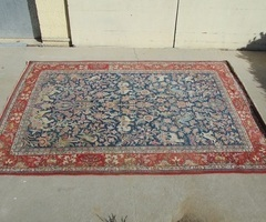 Tapis persan sarouk, fait main de grande dimension : 200 x 285 cm ,vendu