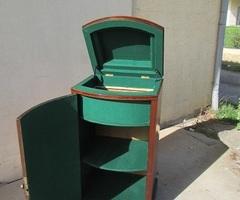Ancien meuble à phonographe, transformé, VENDU