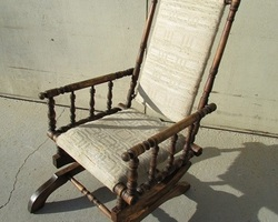 Chaise berceuse , fauteuil à bascule , rocking chair