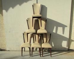 Lot de 6 chaises vintages