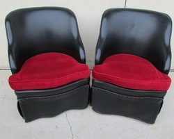 Paire de fauteuils rock'n'roll