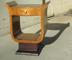 Chevet, console lyre des années 50 , vendu