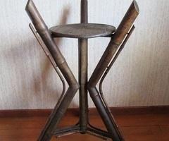 Sellette Napoléon III, en bambou, japonisant, Promo : 75 €
