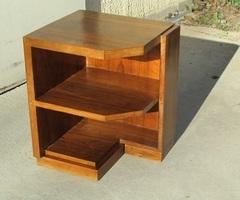 Chevet , table basse, d'appoint art déco en palissandre, vendue