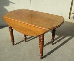 Table extensible , 12 personnes , pieds Jacob, en chêne , vendue