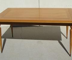 Table rectangulaire en chêne des années 50-60 , réservée