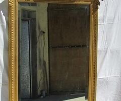 Miroir bois et stuc doré , 19 ème , Vendu