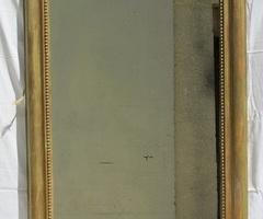 Miroir Louis Philippe à restaurer, vendu