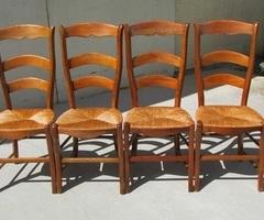 Lot de 4 chaises classiques , ergonomiques , vendues