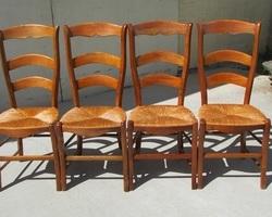 Lot de 4 chaises classiques , ergonomiques