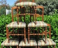 Série de 6 chaises, en merisier, 19ème , vendue