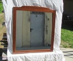Grand miroir de salle de bain, pré-équipé pour éclairage , vendu