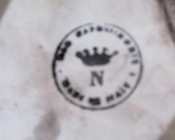 Cache-pot , barbotine Capodimonte, jardinière