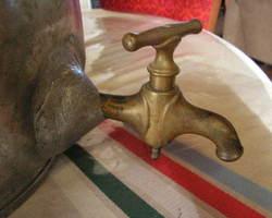 Grande fontaine à eau, à cocktail,vinaigrier