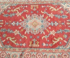 Tapis berbère, en laine et coton, 133 x 207 , 1960s