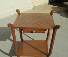 Table à jeux , table de salon, années 40 , vendue