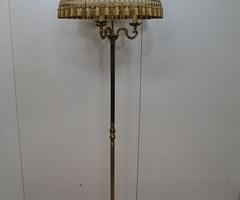 Lampadaire vintage en bronze , style Louis XV