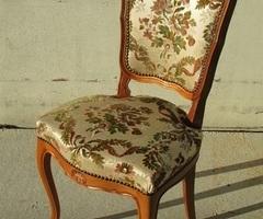 Chaise de style Louis XV , vendue