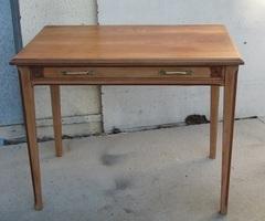 Table d'écriture , bureau plat, table d'appoint , vendue