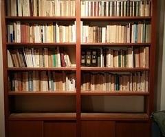 Bibliothèque scandinave des années 60 , vendues