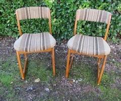 Paire de chaises traineau des années 60 , 120 €