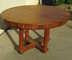 Table de salle à manger Art déco, estampillée Jauvert et Alet , vendue