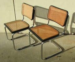 Paire de chaises B32 Marcel Breuer , vendues