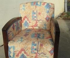 Paire de fauteuils art déco des années 30-40