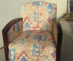 Paire de fauteuils art déco des années 30-40 , vendus