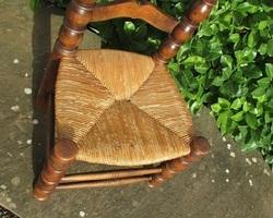 Chaise basse pyrénéenne basque
