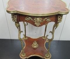 Guéridon style Directoire ,Napoléon, bronze et marqueterie