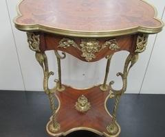 Guéridon style Directoire ,Napoléon, bronze et marqueterie , réservé