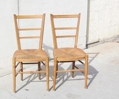 Paire de chaises art nouveau , PROMO : 75 €