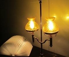 """Lampe de bureau dit """" quinquet """"vendu"""