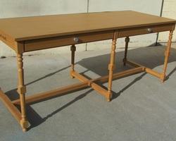 Table de drapier en chêne ou de salle à manger