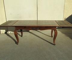 Table de salle à manger , italienne , en chêne