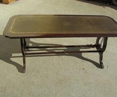 Table basse de salon anglais, vendu