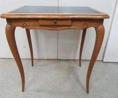 Table d'écriture , bureau plat dans le style Louis XV
