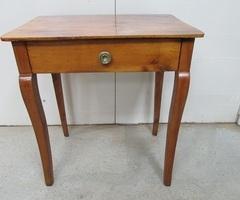 Table bureau époque Empire en merisier , vendu