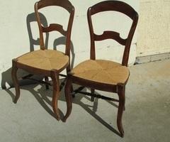 Paire de chaises Louis Philippe vendue