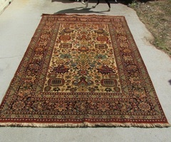 Tapis pure laine persiakhan , 245 x 166 cm ,450 €
