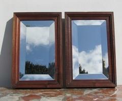 Paire de miroirs anciens, trop mignons,vendus