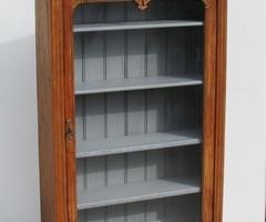 Bibliothèque, vitrine étroite, fin XIXè, début XXè , vendue