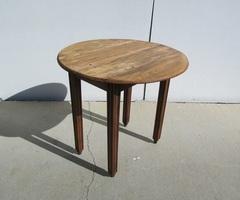 Petite Table à rabats, à volets, Art déco, en carolin , vendue