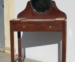 Petite coiffeuse art déco , des années 30 , vendue